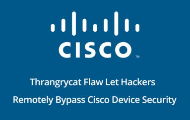 Thrangrycat – Flaws in Millions of Cisco Devices Let Hackers Remotely Bypass Cisco Device Security Future