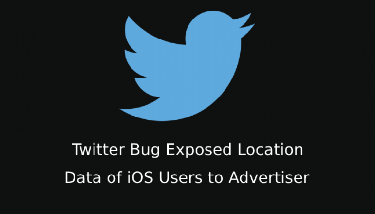 Twitter Bug Exposed Location Data of iOS Users to Advertiser