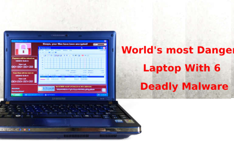 World's Most Dangerous Laptop With 6 Popular Malware Sold at $1.3 million