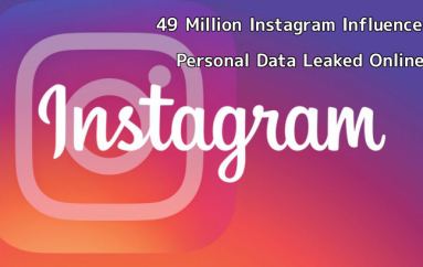 49 Million Instagram Influencers, Celebrities Personal Data Leaked Online
