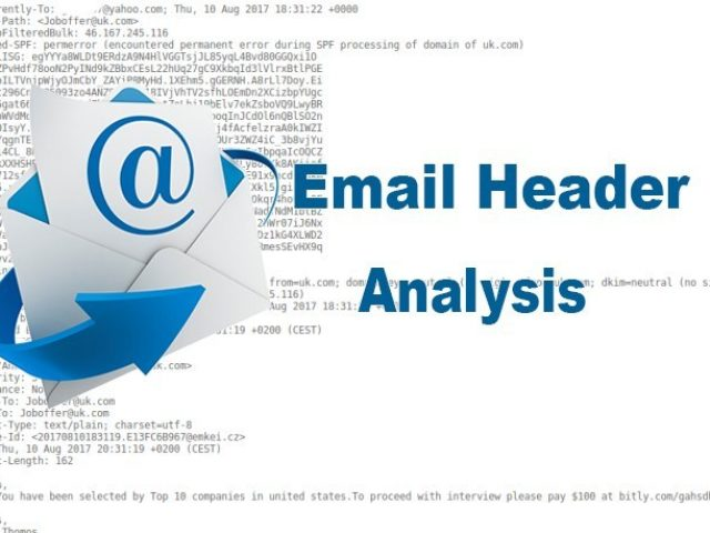 Email Header Analysis - Verify Received Email is Genuine or