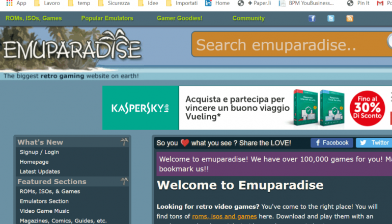 Retro Video Game Website Emuparadise Suffered a Data Breach