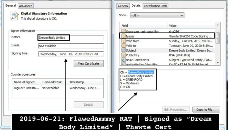 Microsoft Warns of Attacks Delivering FlawedAmmyy RAT Directly in Memory