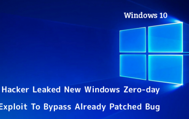 Hacker Leaked New Windows 10 Zero-day Exploit Online To Bypass Already Patched Bug