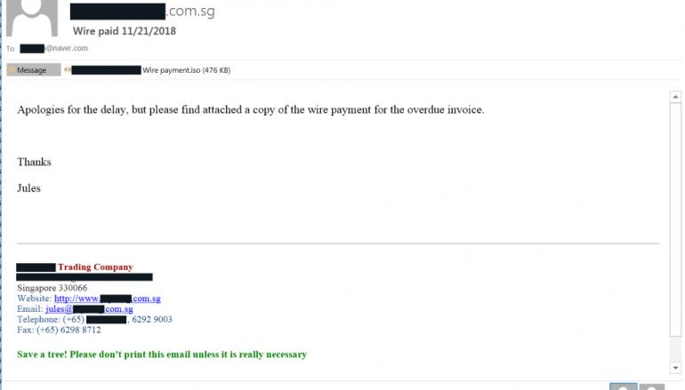 Malspam Campaign Spreads LokiBot & NanoCore via ISO Image Files