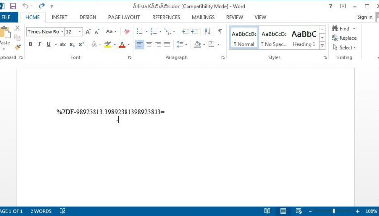 Microsoft Warns of Spam Campaign Exploiting CVE-2017-11882 Flaw