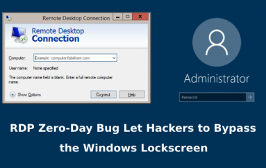 New RDP Zero-Day Bug Let Hackers to Bypass the Windows Lock Screen on Remote Desktop Sessions