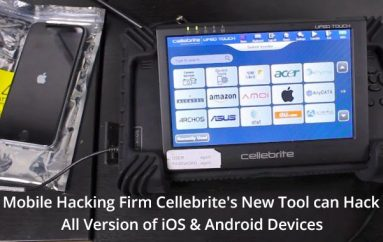 Mobile Hacking Firm Cellebrite's New Premium Tool can Hack & Extract Data From All iOS and High-end Android Devices