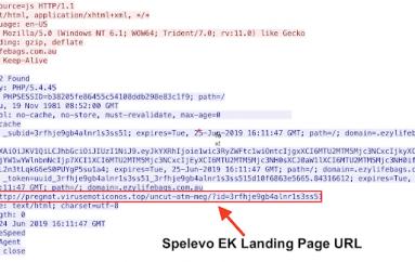 Talos Discovered Spelevo EK, An Exploit Kit Spreading via B2B Website