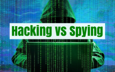 Hacking vs Spying: How Puzzling it is to Find the Hackers in Cyber World