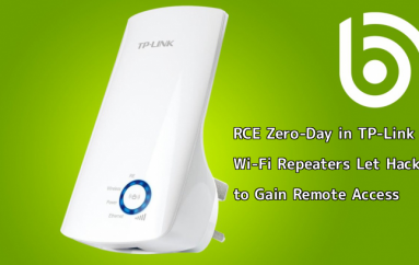 Critical RCE Zero-Day in TP-Link Wi-Fi Repeaters Let Hackers to Gain Remote Access