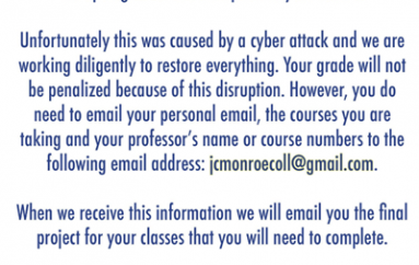 Monroe College Campuses Downed by Ransomware
