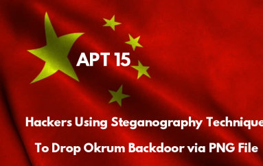 APT15 Hackers Using Steganography Technique to Drop Okrum Backdoor Via PNG File to Evade Detection