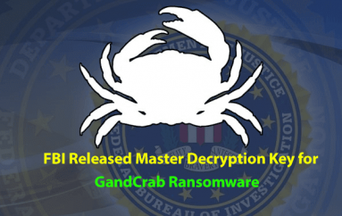 FBI Released Master Decryption Key for All Version of GandCrab Ransomware