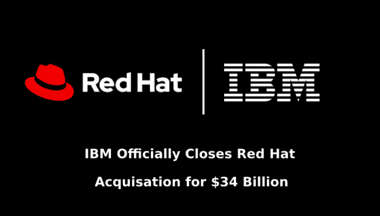 IBM Announced that they Acquired Red Hat for $34 Billion