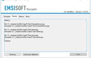 Emsisoft Released a Free Decryptor for the Ims00rry Ransomware