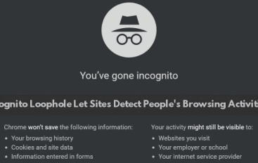 Chrome's Incognito Mode Loophole Let Sites to Detect People's Browsing Activities