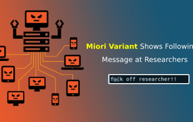 New Miori Malware Uses Text-based Protocol to Communicate with C&C Server for Launching a DDoS Attack