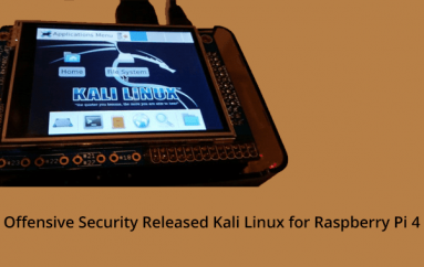 Offensive Security Released Kali Linux for Raspberry Pi 4