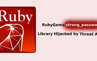 RubyGems Strong_password Library Hijacked by Threat Actors