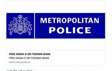Twitter Account of Scotland Yard Hacked and Posted Bizarre Messages