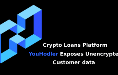 Crypto Loans Platform YouHodler Exposes Unencrypted Customer data that Includes Credit cards and Bank Details