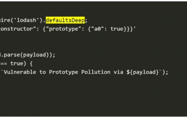 Prototype Pollution Flaw Discovered In All Versions of Lodash Library