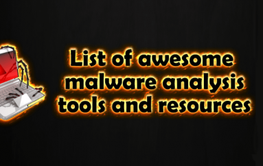 Most Important Security Tools and Resources For Security Researcher and Malware Analyst