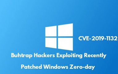 Buhtrap Hackers Group Using Recently Patched Windows Zero-day Exploit to Attack Government Networks