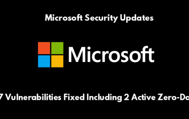 Microsoft Released Security Update For July With the Fixes of 2 Actively Exploited Zero-Day Vulnerabilities – Update Now