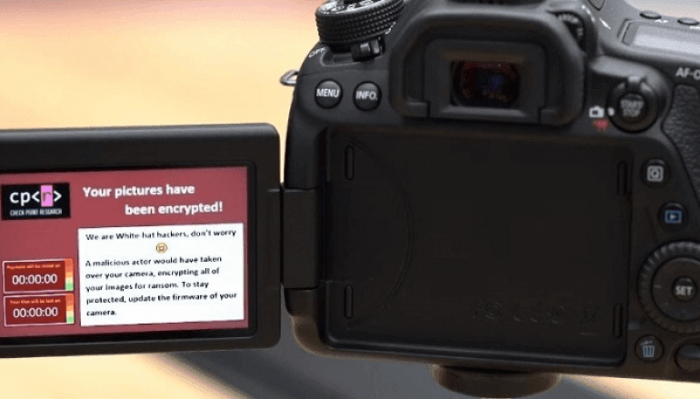 Multiple Bugs in Canon DSLR Camera Let Hackers Infect with Ransomware Over a Rouge WiFi Access Point