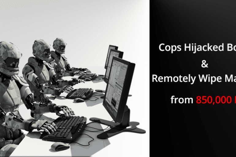 French Cops Hijacked Retadup Botnet & Remotely Wipe The Malware From 850,000 Infected Computers