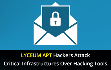 LYCEUM APT Hackers Attack Critical Infrastructures Over a Year using Several Hacking Tools