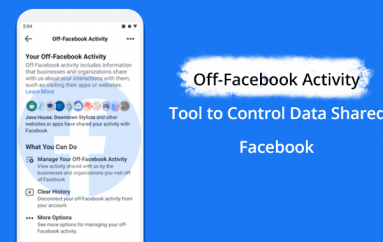 Off-Facebook Activity – New Facebook Tool Let you See Which Apps and Websites Tracked you