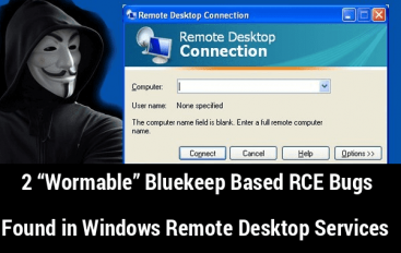 2 Wormable Bluekeep Based RCE Bugs in Windows Remote Desktop Services let Hackers Control Your System Remotely