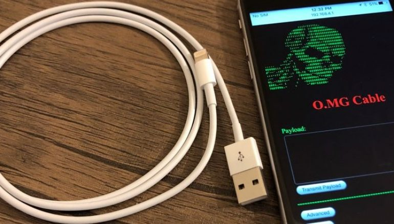 Weaponized iPhone Charging Cable Comes with Payload that Allow Hackers to Hijack Your Computer