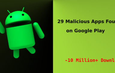 Beware!! 29 Malicious Apps Found on Google Play with Over 10 Million+ Downloads