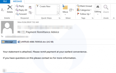 Emotet is Back, It Spreads Reusing Stolen Email Content