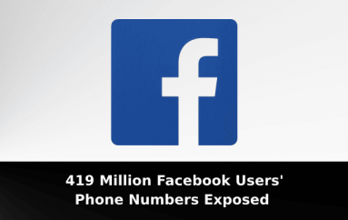 Massive Data Leak – 419 Million Facebook Users' Phone Numbers Exposed