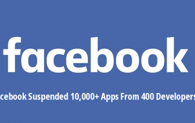 Facebook Suspended More Than 10,000 Apps That Associated with 400 Developers for Abusing FB Privacy