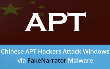 Chinese APT Hackers Attack Windows Users via FakeNarrator Malware to Implant PcShare Backdoor