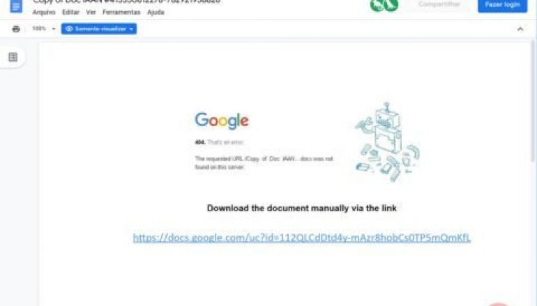 Malspam Campaign Bypasses Secure Email Gateway Using Google Docs