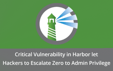 Critical Vulnerability in Harbor let Hackers to Escalate Privilege by Sending Malicious Request