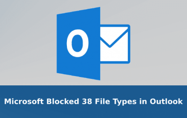 Microsoft Blocked 38 File Types in Outlook to Prevent User's From Downloading Malware