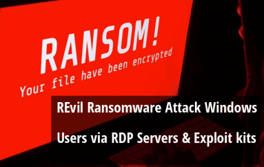 REvil Ransomware links With GandCrab to Attack Windows Users via RDP Servers and Exploit kits