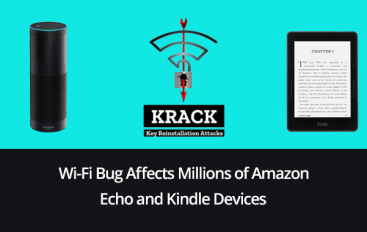 Wi-Fi Bug in Millions of Amazon Echo and Kindle Devices Let Attackers Steal Sensitive Details