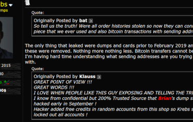 Hackers Stole Card Details from BriansClub Carding Site