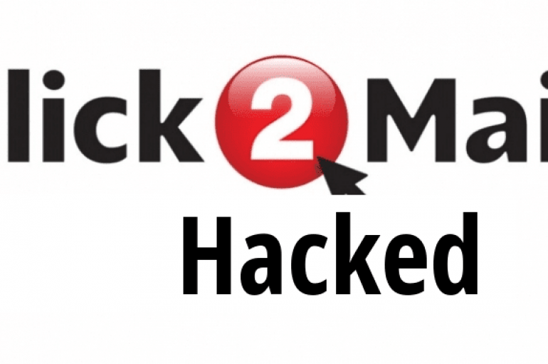 Click2mail Hacked –  Hackers Starts Sending Spam Emails To Stolen Email Address of Users