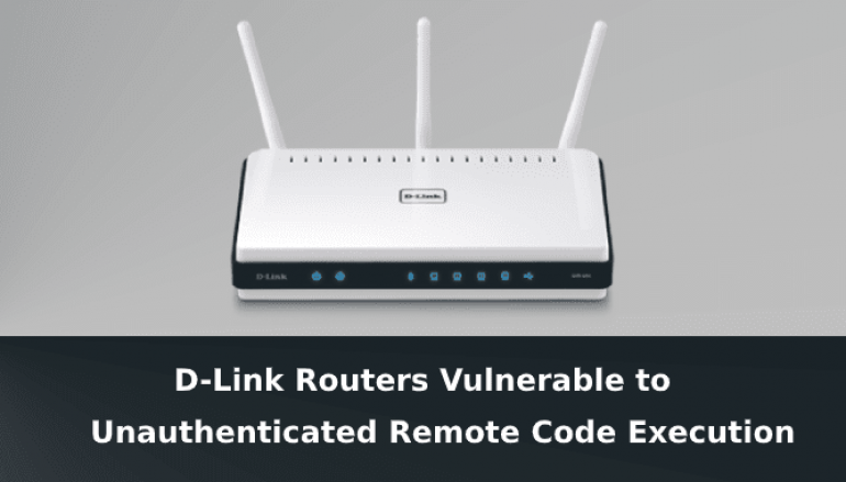 RCE Vulnerability in D-Link Routers Let Hackers Access the Router Admin Page Without Credentials