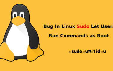 A Vulnerability In Linux Sudo Let the Restricted Linux Users to Run Commands as Root